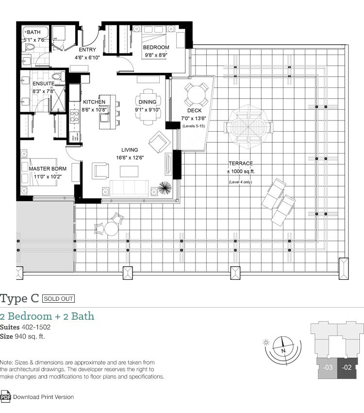 Floor plans legato live in perfect harmony at 960 for Floor plans victoria bc